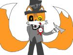 Tails As The Mayor From Nightmare Before Christmas by gemilathehedgehog