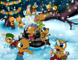 ::-Toad Patrol Christmas-:: by Starimo
