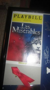 Les Miserables Playbill by AIperfecta