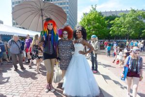 15 Boston Pride Fest,Queen and Colorful Companions by Miss-Tbones