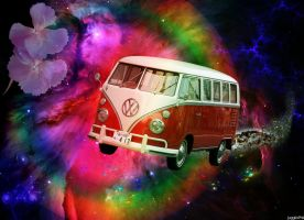 Psychedelic Spaceride by JugglinPhil