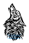 Howling Tribal Design by InsaneRoman
