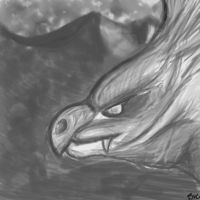 Dragon by Brammelam
