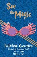 Potterhead Convention Poster - Ravenclaw by rebnic