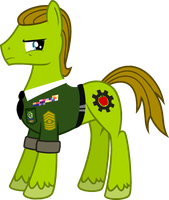 Sgt. Applesnack trace by cheeseater109