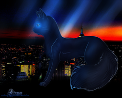 Night City by Cowberry-Nightshade