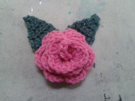 Rose brooch by VanillaHigh