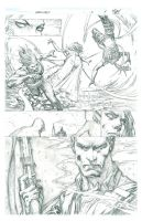 Darkness V3 - Issue 5 Pages 5 by MichaelBroussard