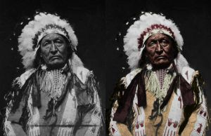 Indian chief - before after by B-D-I