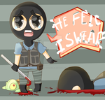 Traitor Chibi (Trouble In Terrorist Town) TTT by fluffiemoustache
