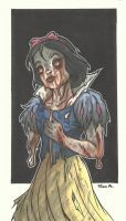 DISNEY ZOMBIE MASTERWORKS - SNOW WHITE by leagueof1