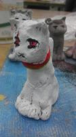 Clay Prussia Cat by MattnMello