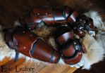 SCA Leather Gauntlets and Vambraces by Epic-Leather