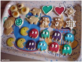 My first decorated cookies by SaMtRoNiKa