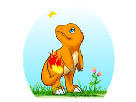 Charmander by SiKKiN