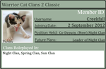 WCC2 ID Card by Bluefur101