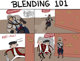 Blending in AC III (see aurigale.deviantart) by AskConnorsTomahawk