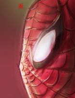 Spiderman mug by CheungKinMen