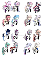 Pony Adopts ~ { Flat Price ~ Open } by Majo-Shoujo