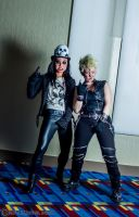 Alice Cooper and Billy Idol 14 by Insane-Pencil