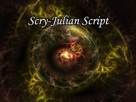 Scry-Julian Script by Fractal-Resources