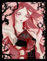 Cherry Pink by willowgothicprincess