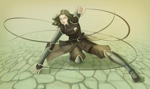Chief Beifong by Lunar-Graphite