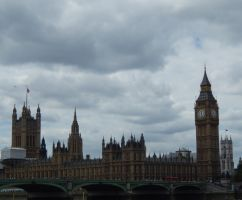 British Parliament by superSeether