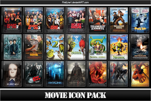 Movie Icon Pack 11 by FirstLine1