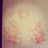 Flowershop sketch by 0din-Cosplayer