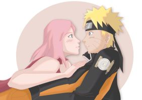 NaruSaku - You know that I love you, right? by RinaM
