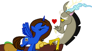 Discord and Pony Me by AmandaTaylor