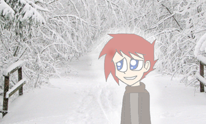 Red in The Snow by RandomWorld123