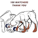 100 WATCHERS! by Syreneln
