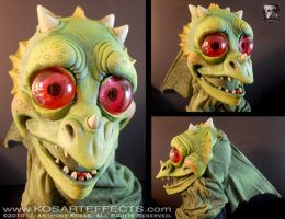 LITTLE PUFF DRAGON Mask by KOSARTeffects