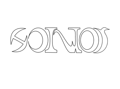 Honor Comics Ambigram- Blank by Vodos