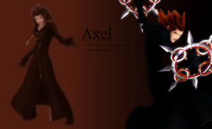 Axel - wallpaper by Ekumimi