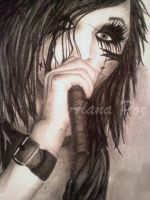 BVB Andy Biersack Individual Poster by darkenedhearte