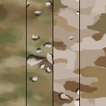 Camouflage tile combo pack -free- by ErinPtah
