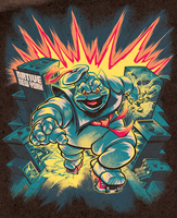 STAY PUFT MARSHMALLOW MAN colors by pop-monkey