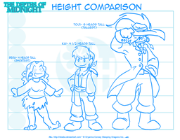 The Depths - Height Comparison by Obaba