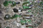 Bottle Wall by piratesofbrooklyn