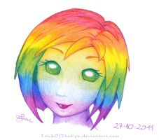 Feeling the Rainbow by Gnomshee