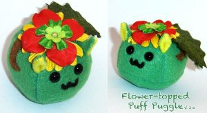 Puff Puggle Flower Topped v2.0 by callykarishokka