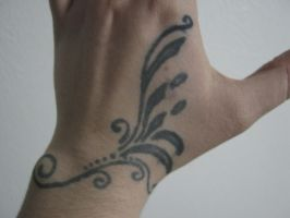 Jagua tattoo by TheCrimsonCrow
