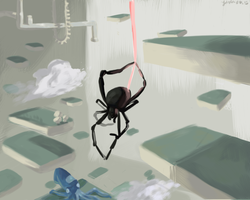 Dangle-Based Spider Thing by CartoonSpider