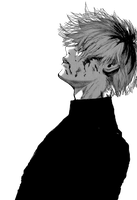 Transparent Sasaki Haise by Background-chan