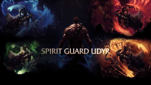 League Of Legends : Spirit Guard Udyr Wallpaper by iamsointense