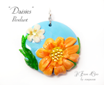 Pendant - Daisies by rosepeonie