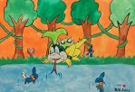 Mudkip Pond by TheresaYingSu